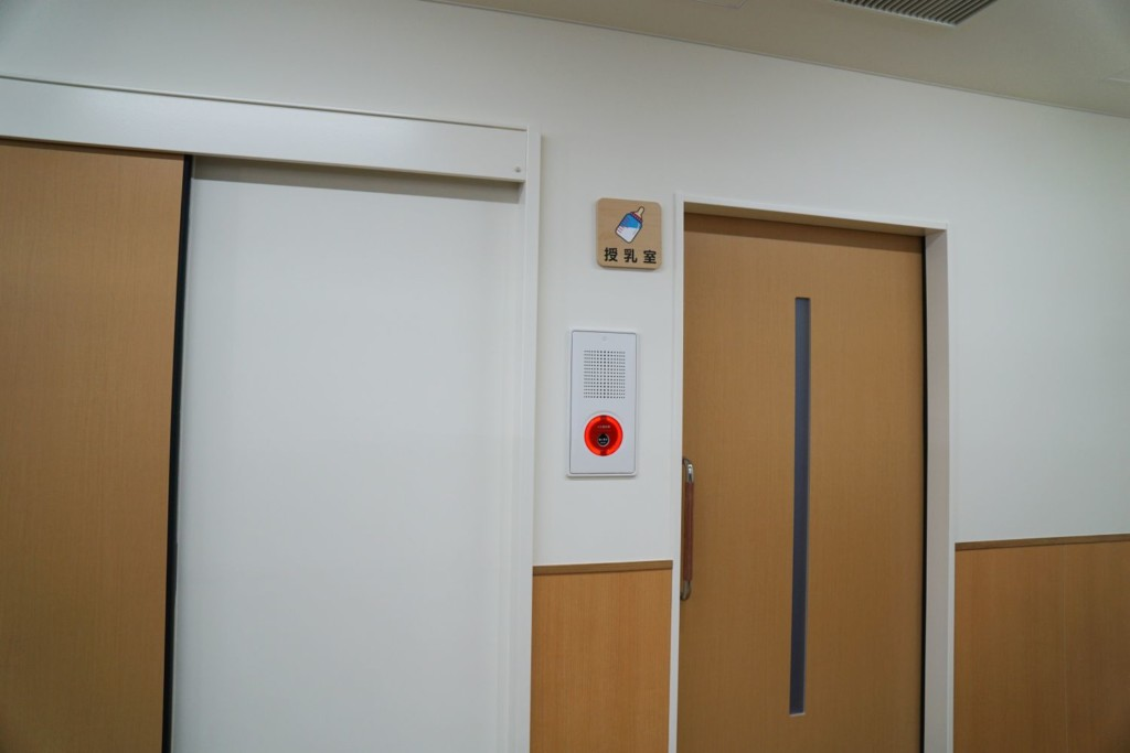 真備図書館 授乳室