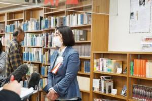 真備図書館 伊東市長