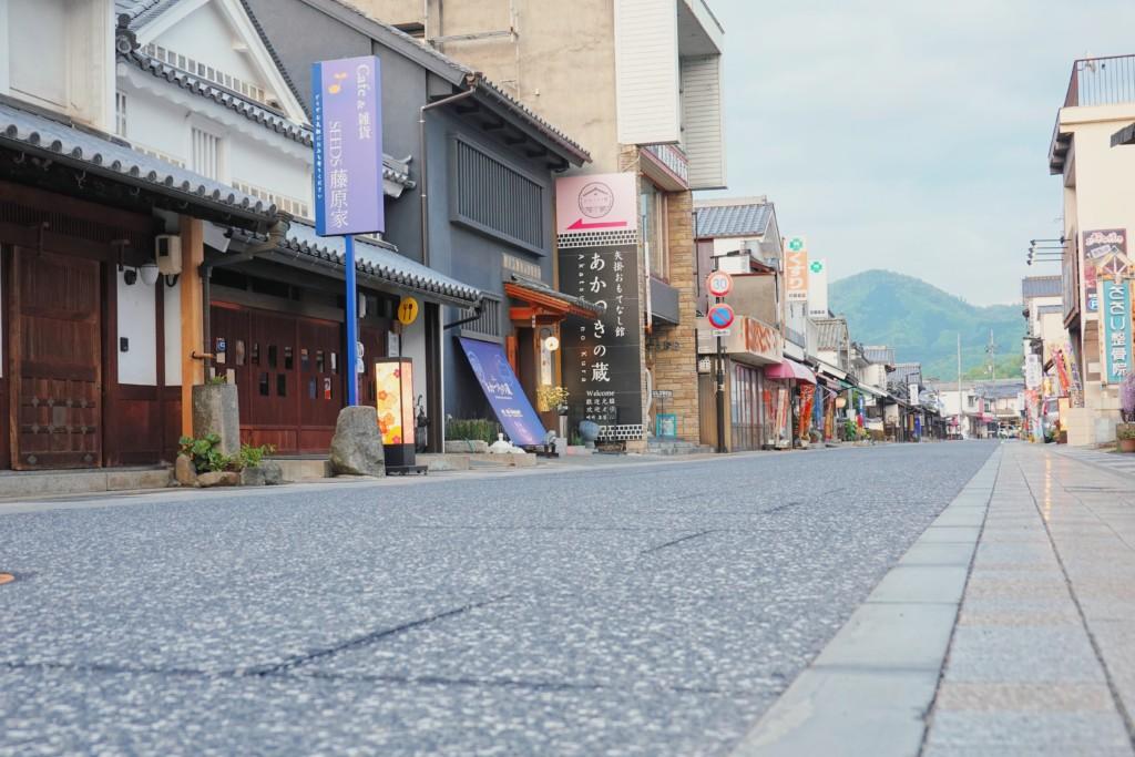 矢掛商店街