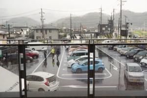 山陽道やかげ宿 駐車場