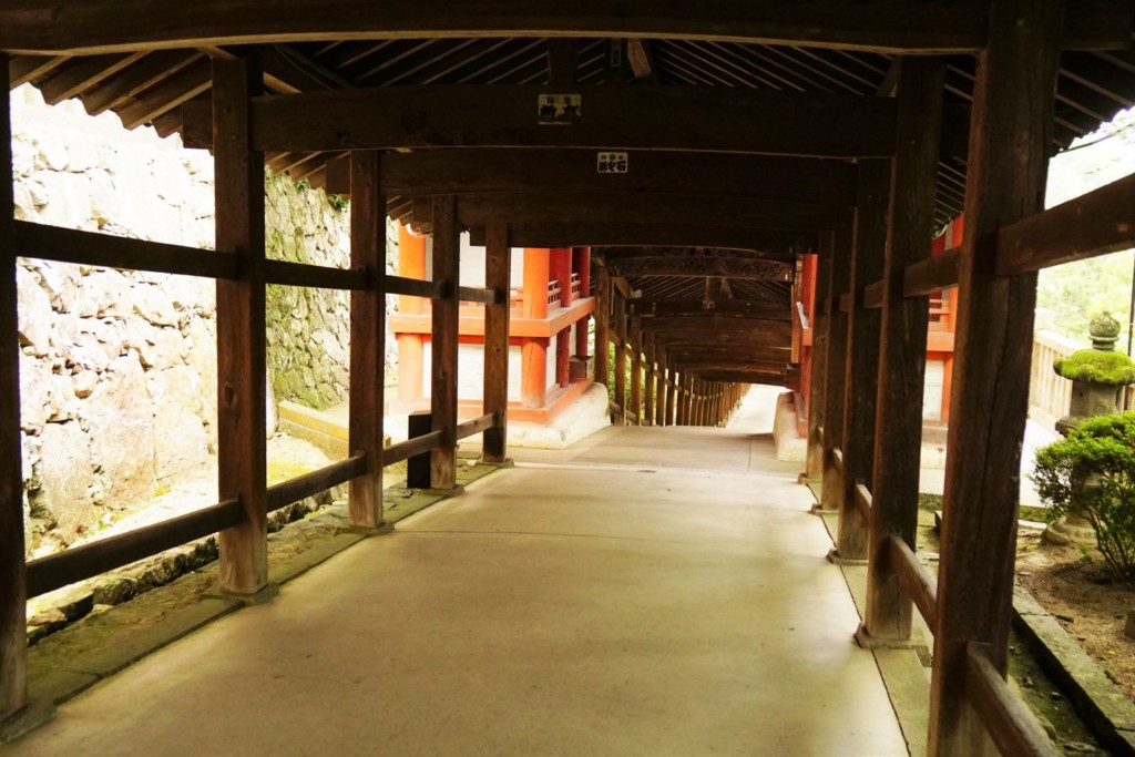 吉備津神社 回廊
